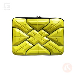 "Forro G-form para Laptop 11"" Amarillo"