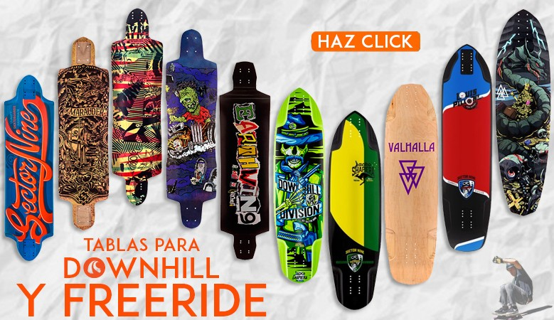 Tablas Para downhill y freeride